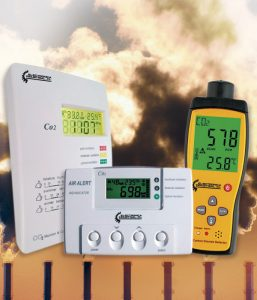 Detectores Dióxido Carbono