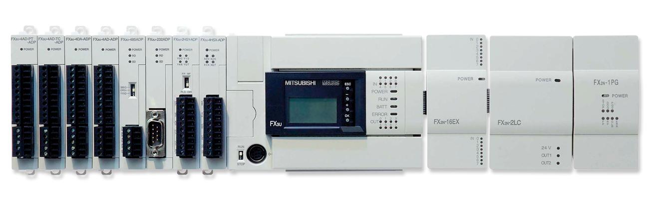 PLC Mitsubishi FX3U